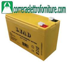 Batteria 12V 7,2Ah LEAD LINCE  1112LI6,8-12