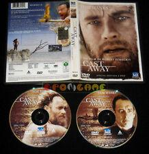 CAST AWAY (Tom Hanks) di Robert Zemeckis Versione 2 Dvd »»»»» USATO