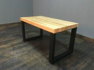 Couchtisch Esche Massivholz Beistelltisch Sofatisch 44x84x45 cm
