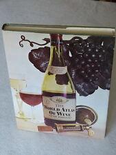 The World Atlas of Wine, 4th Edition Hardcover & Jacket 1971 Maps Hugh Johnson
