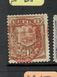 Peru Postage Due 1c Overprint MOG (3esc)