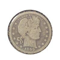 1899 Philadelphia Mint Silver Barber Quarter *269