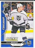 2018-19 Upper Deck Compendium Series 2 BLUE ROOKIE RC Daniel Brickley