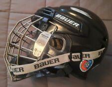 Black Bauer Hockey Helmet Medium Hh5000M Great Condition!