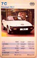 Cuarteto tarjeta individuales-Triumph TR 7-art.nr.455
