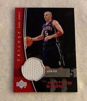 2004-05 Upper Deck Trilogy The Cutting Edge Jason Kidd Jersey Nets