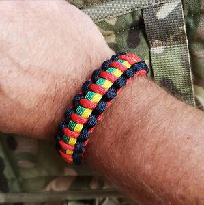 The Royal Marines Charity Inspired Handmade Paracord 550 Bracelet