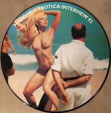 Madonna – Madonna Erotica Interview 92 - Sexy Cheesecake Picture Disc