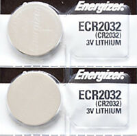 2 x Energizer CR2032, 2032 Lithium Batteries