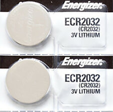 2 x Energizer CR2032, 2032 Lithium Watch Batteries
