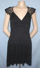 Bella Tie-Back Little Black Party Dress Size Small (Junior 3/5 Estimate) Girls L