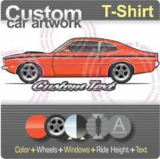 Custom T-shirt 71 1971 72 1972 Comet GT 302 V8 not affiliated with Mercury