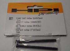 New HPI Flange Shaft 4x62mm (Black,2pcs) For Savage 21 86071