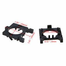 2Pcs Black Plastic LED Car Headlight Bulb Holder Adapter Base for Ford Focus