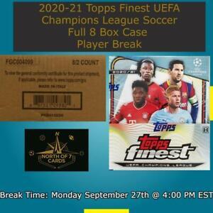 Kylian Mbappe 2020-21 Topps Finest UEFA Champions League Case Break #8