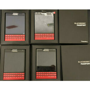 BlackBerry Passport Q30 sqw100-1 - Red - 32GB (Unlocked) Smartphone Rare