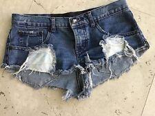 One Teaspoon Denim Shorts Sz 6/24