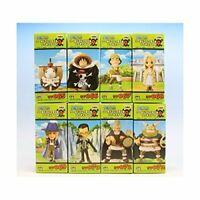 One Piece World Collectable Figure Vol.9 All 8set Banpresto Japan Manga Anime