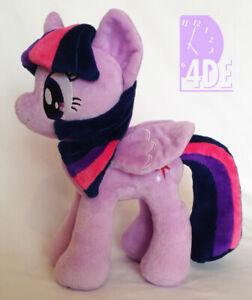 "My Little Pony Twilight Sparkle Plush 11"" 4DE 4th Dimension Closed Wings! NEW!"