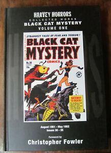 Black Cat Mystery Harvey Horrors Volume 1 HARDCOVER PS Artbooks #30-35 1951-1952