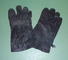 USGI Black Leather Light Duty Men and Women's Work Gloves Nationwide Size 4