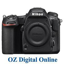 New Nikon D500 Digital SLR Camera 20.9MP DX-Format 4K Video Wif Body 1 YrAustWty