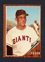 1962 Topps  #565 Jose Pagan EXMT/EXMT+  C0007683