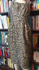 TRACY REESE LEOPARD PRINT DRESS