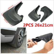 2Pcs 26x21cm Fender Mud Flaps Water Baffle Splash Guards Universal For Car SUV