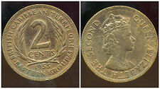 BRITISH  CARAIBES  2 cents  1955