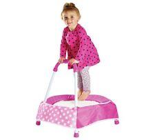 Chad Valley Indoor Ragazzo Bambino Tappeto Elastico Bambini a essere attive sia rosa