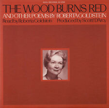 Roberta Goldstein - The Wood Burns Red and Other Poems [New CD]