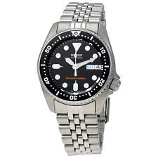 Seiko Black Automatic Diver Mens Watch SKX013K2