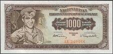 TWN - YUGOSLAVIA 71b - 1000 D. 1/5/1955 UNC Prefix LE