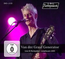 VAN DER GRAAF GENERATOR - LIVE AT ROCKPALAST-LEVERKUSEN 2005 2CD+DVD NEU