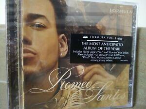 Romeo Santos : Formula, Vol. 1 Latin Pop/Rock CD - NEW FAST SHIPPING