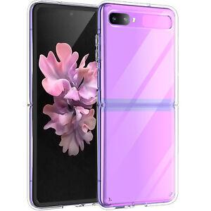 Per Samsung Galaxy Z Flip Case Cover Telefono Ultra-sottile Antiurto Cristallo