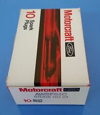 NOS Ford Spark Plugs AWSF54C  Box of 10 Unopened Motorcraft Boxes