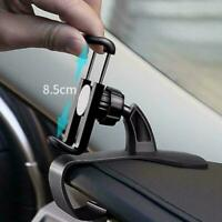 360°Car Dashboard Mount Holder Stand Bracket For Universal Phone Mobile Cel Y4C5