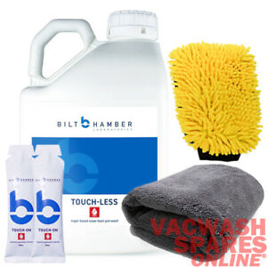 BILT HAMBER TOUCH-LESS 5L & TOUCH ON (2 X 30ML) -TOUCHLESS WASH -HYDROPHOBIC SET