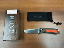 "*New*  Benchmade Hunt 15061 Grizzly Ridge 3.5"" Knife Premium Plus Auth. Dealer"