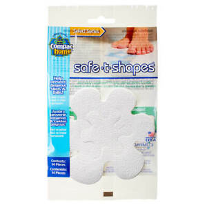 Compac Home Safe-T-Shapes Adhesive Non-Slip Bath Appliques Help Prevent Falls