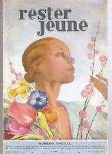 REVUE RESTER JEUNE AVRIL 1935 Jean Adrien MERCIER