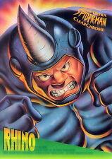 SPIDER-MAN 1995 FLEER ULTRA CLEARCHROME INSERT CARD 6 OF 10 RHINO MA