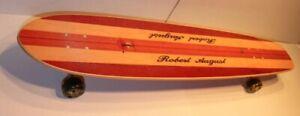 MINT SURF ONE ROBERT AUGUST LONGBOARD SKATEBOARD