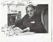 1968 John Barbirolli Gina Bachauer autograph signed autograph concert programme