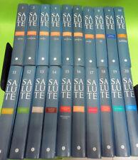 ENCICLOPEDIA SALUTE.20 VOLUMI.CORRIERE DELLA SERAFONDAZIONE VERONESI.2005