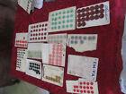 lot de boutons vintage sur cartons d'origine