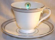 Waterford Teacup and Saucer - Carina Platinum