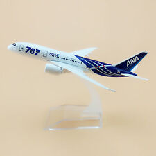 16cm Airplane Model Plane Air Japan ANA Airlines Boeing 787 B787 Aircraft Toy